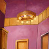 ecoline and gouache - background coloring for animated tv series