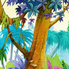 ecoline & gouache - backgrounds for animated tv commercial